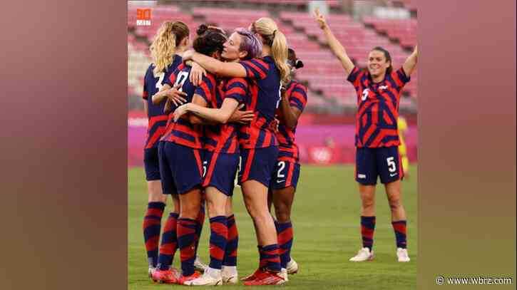 U.S. Women's Soccer Team makes historic Olympic win as Tokyo battles record numbers of COVID cases
