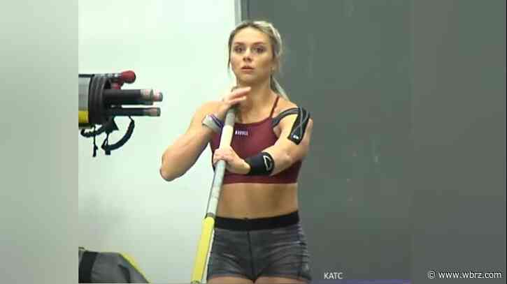 New Iberia's Morgann Leleux Romero, injured, has difficulty in Women's Pole Vault final at Tokyo Games
