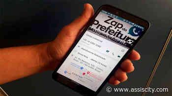 Assis é a 1ª cidade do país a oferecer atendimento via WhatsApp em tempo real pela Prefeitura - Assiscity