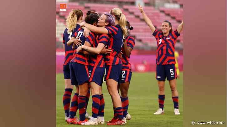 U.S. Women's Soccer Team makes historic Olympic win