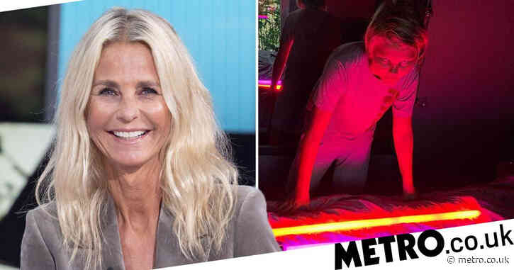 Ulrika Jonsson thrilled and 'relieved' her 13-year-old son can stay in UK after returning from the US