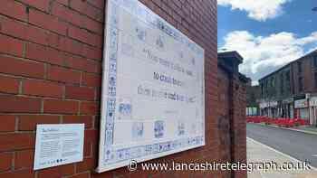 New Blackburn artwork in historic area celebrates rambling hero