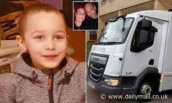 Stepfather is charged with murdering five-year-old Logan after he was put in river in 'cover-up'