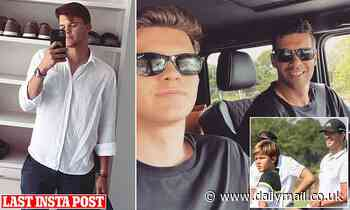Michael Ballack's son Emilio, 18, 'is killed in a quad-bike crash while on holiday in Portugal'