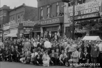 Archival footage shows how North Bay threw a party 86 years ago this week