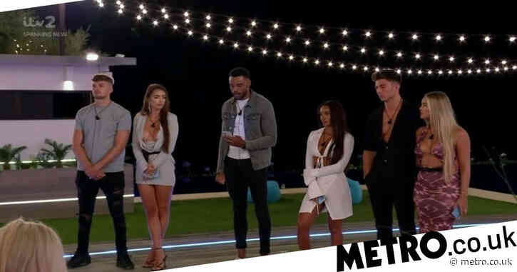 Love Island 2021: First look picture accidentally reveals which four islanders have been dumped