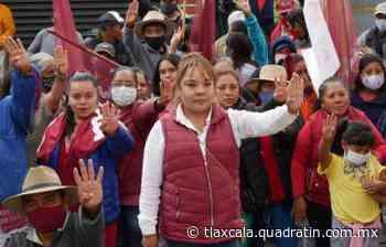 Alcaldesa electa de Tenancingo convoca a integrarse a las fuerzas municipales - Quadratín Tlaxcala