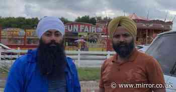 Sikh dad carrying religious kirpan blade handcuffed and 'kicked out of funfair'