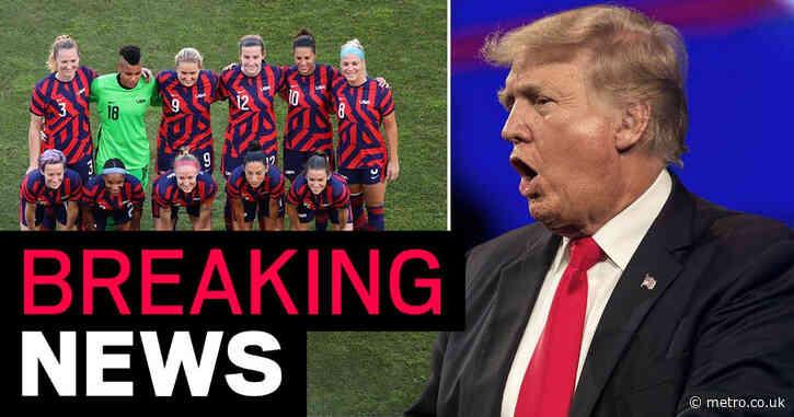 Donald Trump calls US women's soccer team a 'radical group of Leftist Maniacs'