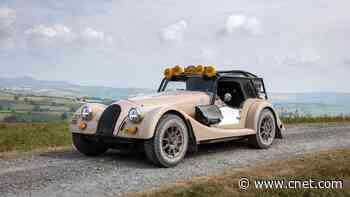 Morgan Plus Four CX-T is ready to tackle tough terrain video     - Roadshow