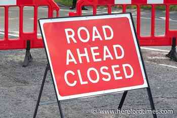 Fallen trees shuts Herefordshire road for up to four hours