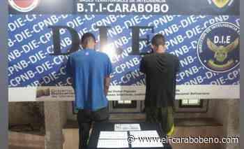 Capturados dos presuntos microtraficantes de droga en Naguanagua - El Carabobeño