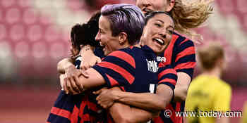 US beats Australia 4-3, wins Olympic bronze in likely end for golden era of women's soccer