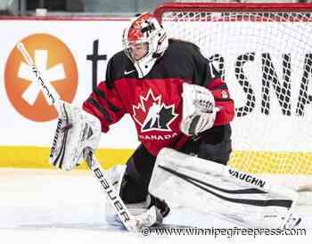 Ste. Anne goalie looking for new hockey home after college program cut - winnipegfreepress.com