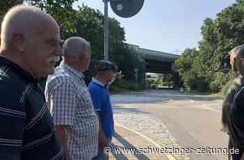 Autobahnbrücke im Hirschacker: Das Ploppen ist weg – jetzt scheppert's - Schwetzingen - Nachrichten und Informationen - Schwetzinger Zeitung