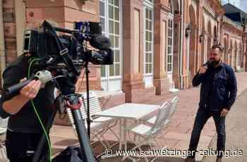 Laith Al-Deen gibt ZDF-Interview live aus dem Schlossgarten Schwetzingen - Schwetzingen - Nachrichten und Informationen - Schwetzinger Zeitung