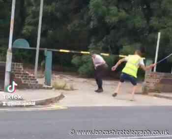 Shocking video shows 'street fight' over van