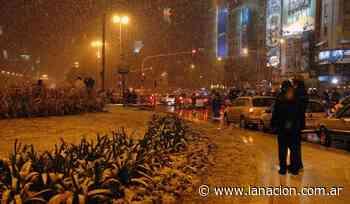 Ola de frío: ¿puede caer nieve en la Ciudad de Buenos Aires? - LA NACION