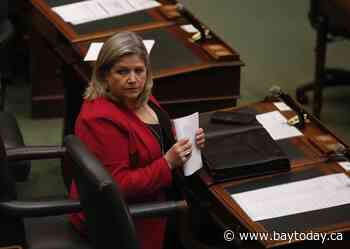 ONTARIO: NDP's Andrea Horwath criticized for opposing mandatory education worker COVID shots (updated)