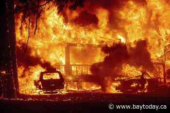 'We lost Greenville.' Wildfire decimates California town - BayToday