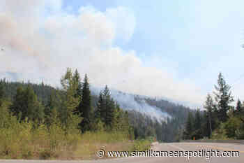 Highway 97A reopens after closure due to Two Mile wildfire – Princeton Similkameen Spotlight - Similkameen Spotlight