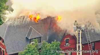 Monty & Rocky Hill Firefighters Help Extinguish Princeton Theological Seminary Blaze - The Montgomery News