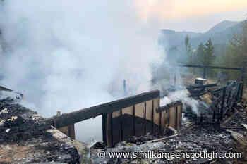 House fire threatens West Boundary community – Princeton Similkameen Spotlight - Similkameen Spotlight