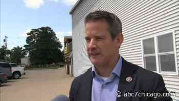 Rep. Adam Kinzinger defends joining Jan. 6 committee in Princeton, Illinois - WLS-TV