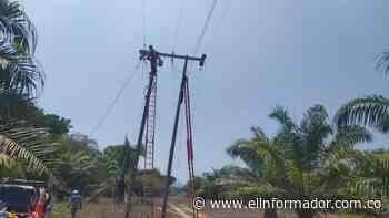 Air-e realiza mantenimientos eléctricos preventivos en Sitionuevo este viernes - El Informador - Santa Marta
