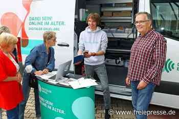 Digitale Engel in Neukirchen unterwegs - Freie Presse