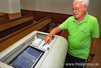 Werdaus älteste Kirche wird mit modernster Technik ausgestattet - Freie Presse