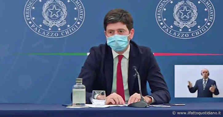 """Speranza: """"Terza dose? Già acquistati vaccini sufficienti per le somministrazioni, aspettiamo le indicazioni dalle autorità scientifiche"""""""