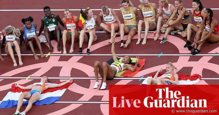 Tokyo 2020 Olympics: heptathlon glory for Thiam, Belgium win hockey – live!