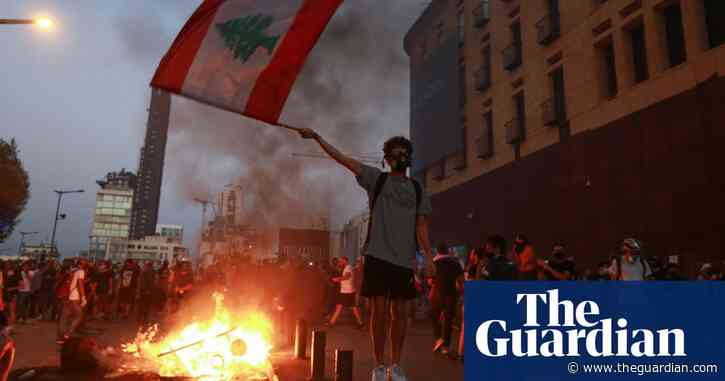 Beirut blast: protests mark one year since deadly port explosion – video report