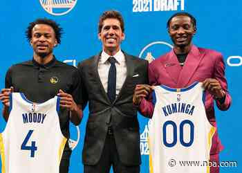 Warriors Sign Jonathan Kuminga and Moses Moody