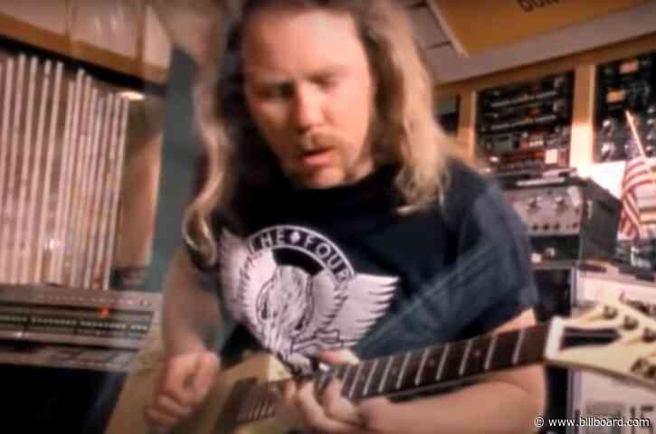 Metallica Scores First Entry in YouTube's Billion Views Club
