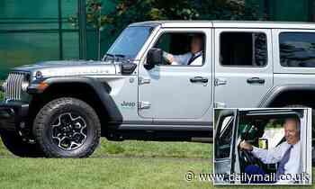 Joyriding Joe: Biden drives around the White House  in a hybrid Jeep Wrangler