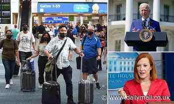 Jen Psaki ADMITS Biden's international travel ban is 'inconsistent and confusing'