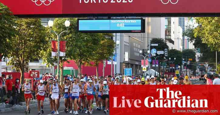 Tokyo 2020 Olympics: men's 50km walk, Belgium win hockey – live!