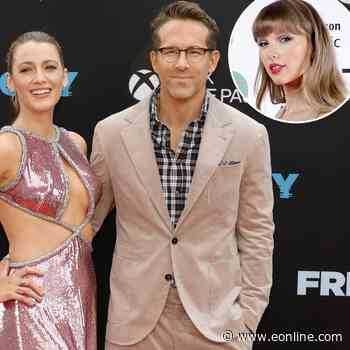 How Ryan Reynolds and Blake Lively Feel About Taylor Swift Using Daughters' Names in Her Music