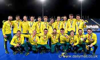 Kookaburras captains are overcome with emotion speaking about missing their loved ones in Australia