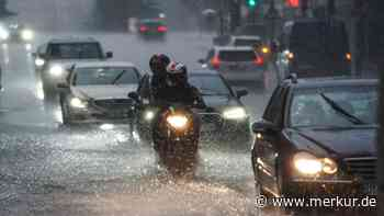 Schutz bei Unwetter und Sturzfluten: Versiegelung ist das größte Problem - Merkur Online