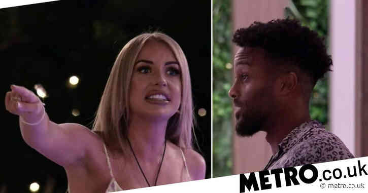Love Island 2021: Fans desperate to know why Faye Winter screams at Teddy Soares as movie night descends in chaos