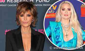Lisa Rinna claims 'screaming fight' between Erika Jayne and producers was cut from the last episode