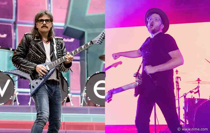 Watch Weezer's live take on Fall Out Boy's 'Sugar, We're Goin Down'