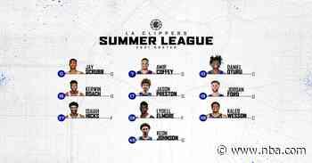LA Clippers Announce Summer League Roster