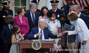 Biden to sign bill awarding medals to Jan. 6 responders