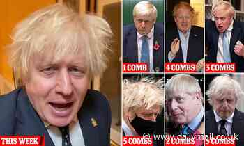 The Boris Johnson comb-ometer: From Bowl Cut to the full Worzel