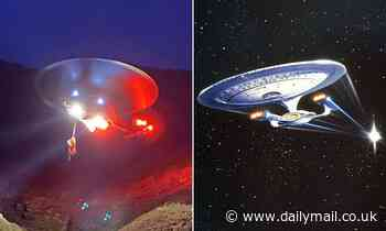 The Starship Enterprise boldly goes... to the Lake District
