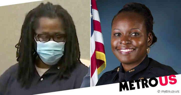 Boyfriend who killed pregnant ex-girlfriend represents himself in cop murder